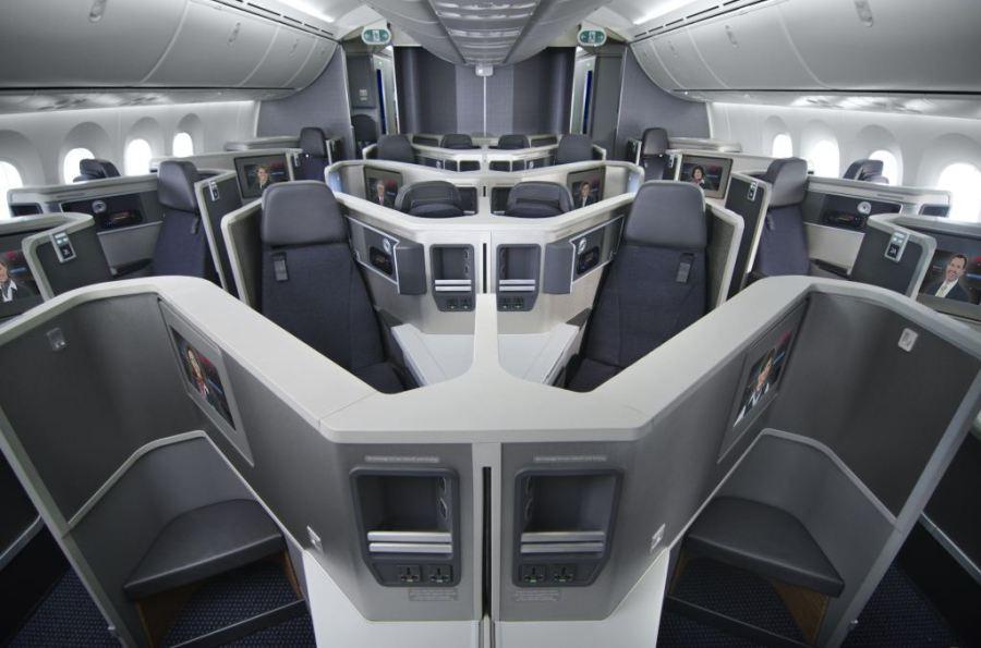 021115 AA 787 - Business Class