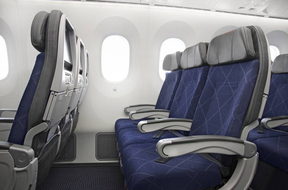 American Show Off 787 Interiors Thedesignair