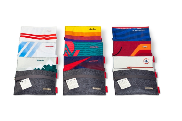 American Airlines Heritage Amenity Kits 1 (all 9)
