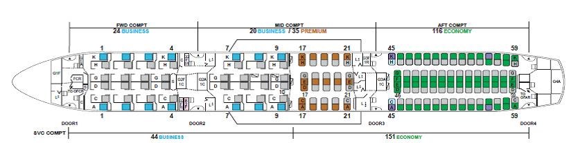 A Closer Look At JAL\'s Super Spacious 787-9 | TheDesignAir
