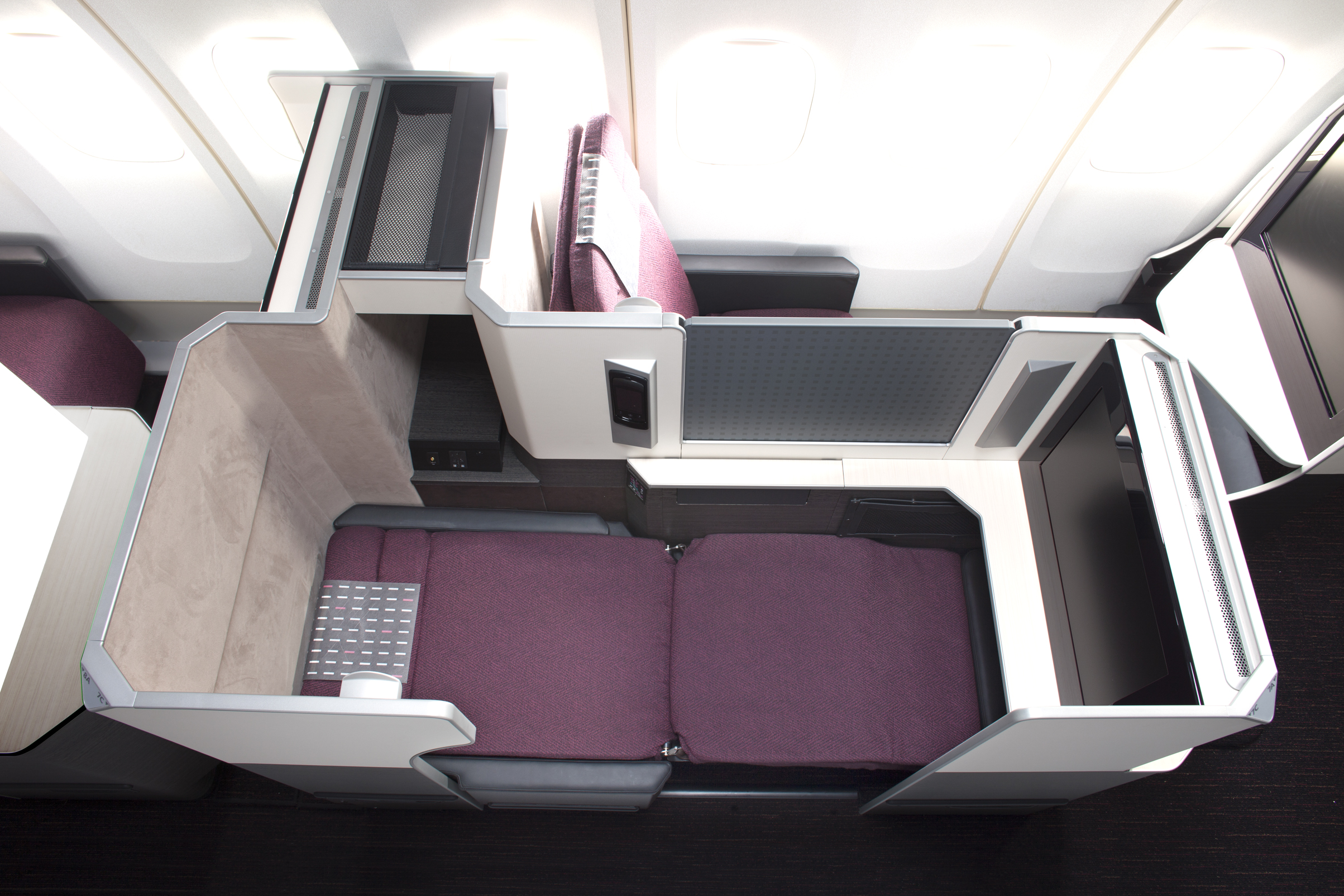 Fine New Korean Air Prestige Suite Indicates A New Seating Trend Bralicious Painted Fabric Chair Ideas Braliciousco