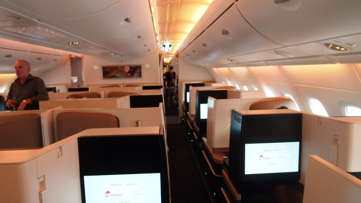 Trip Report Etihad A380 Business Class February 2015