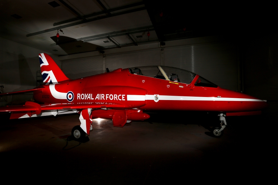 Red Arrows display team unveil new Union flag design on jets