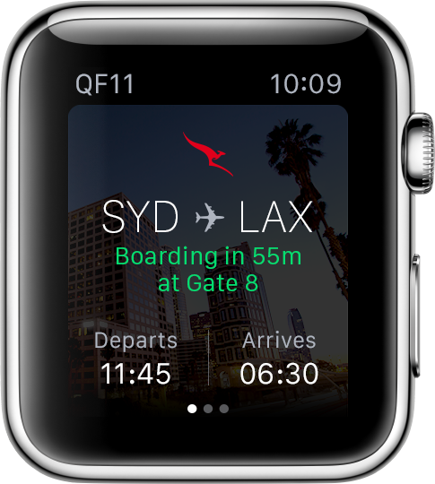 Airlines Get Into Apple Watches In A Big Way