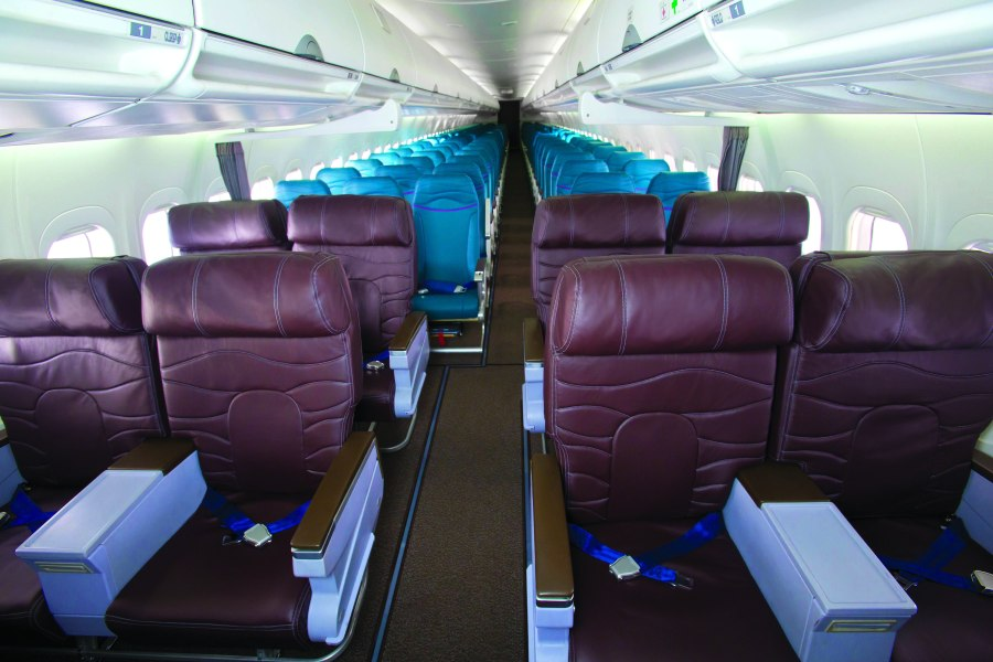 Hawaiian Airlines B717 Full Cabin