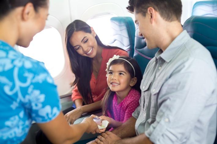 Hawaiian Airlines B717 Main Cabin Service