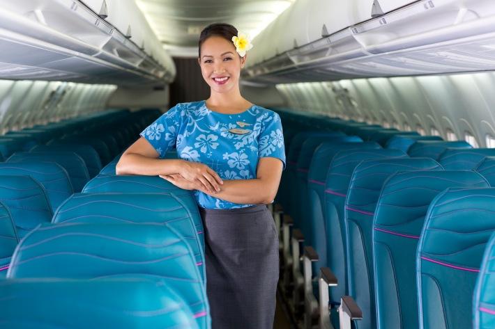 Hawaiian Airlines B717 Main Cabin