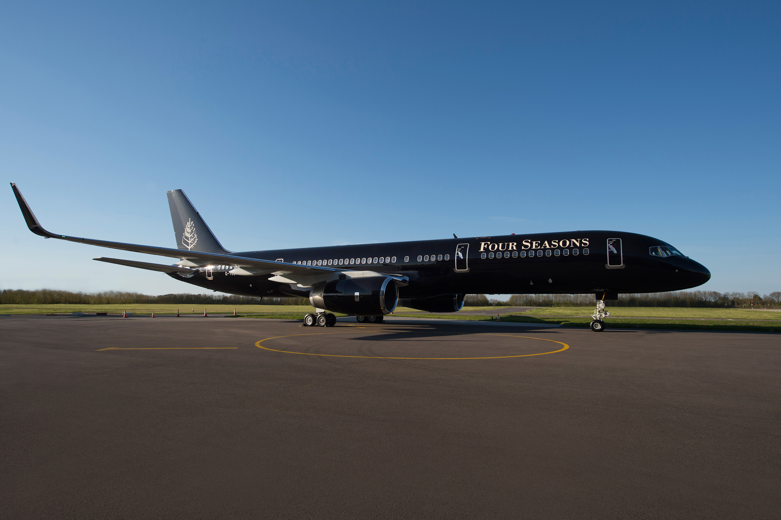 Four seasons super exclusive private jet revealed for Small luxury hotel 7 little words