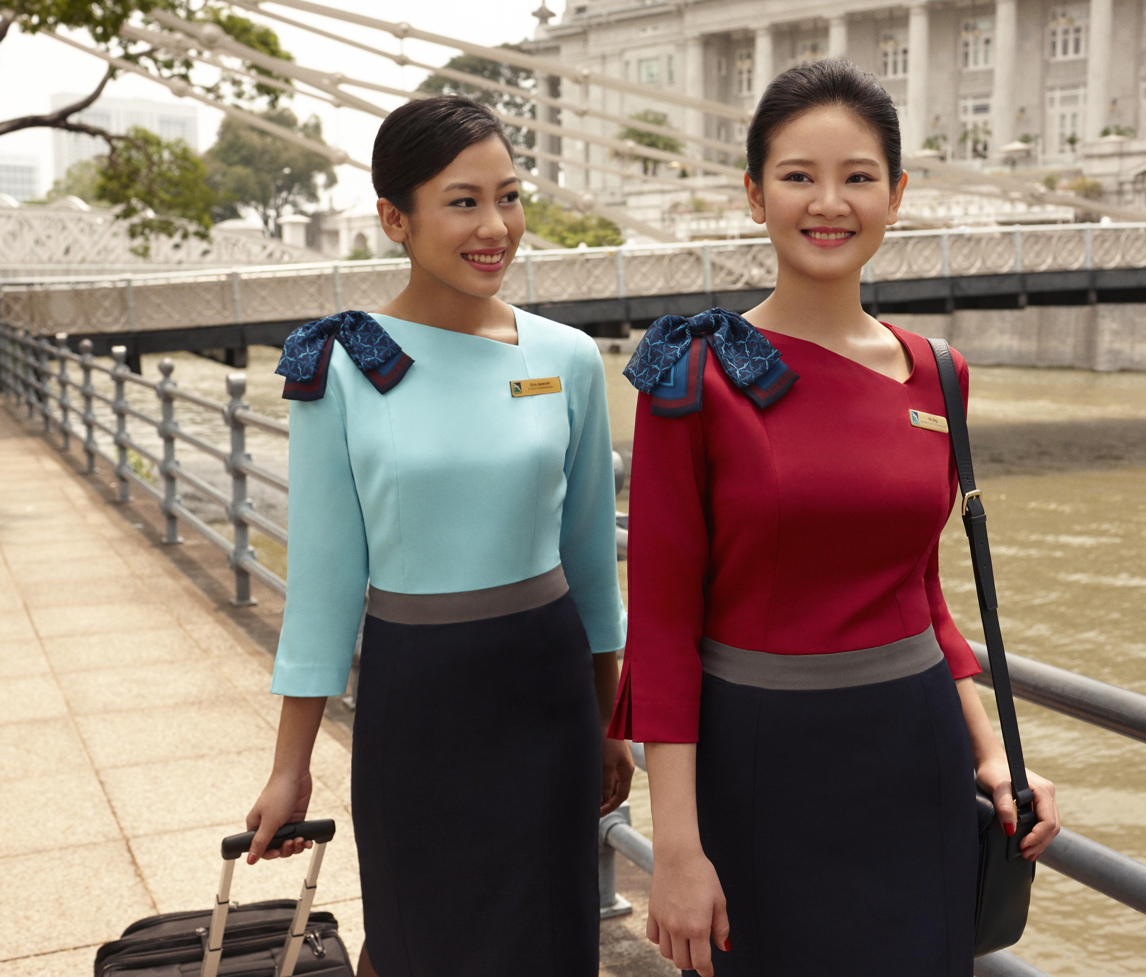 Beam Us Up Silkair S New Uniforms Set Our Phasers To Stun