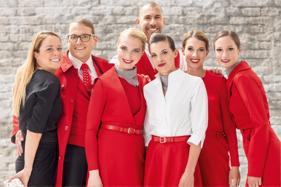 Austrian Airlines Uniform - Marina Hoermanseder 1