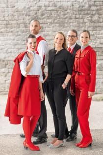 Austrian Airlines Uniform - Marina Hoermanseder 2