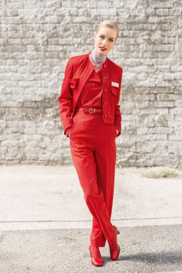 Austrian Airlines Uniform - Marina Hoermanseder 3