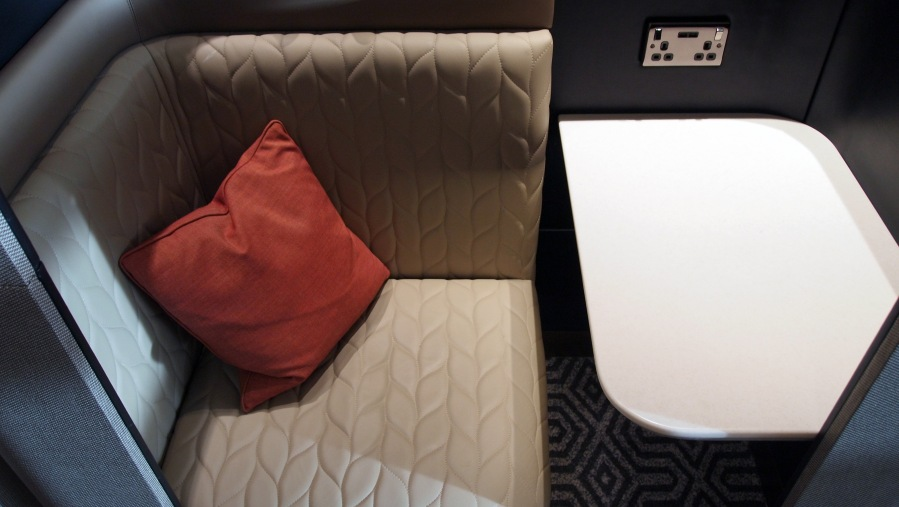 Singapore Airlines 777-300ER Business Class