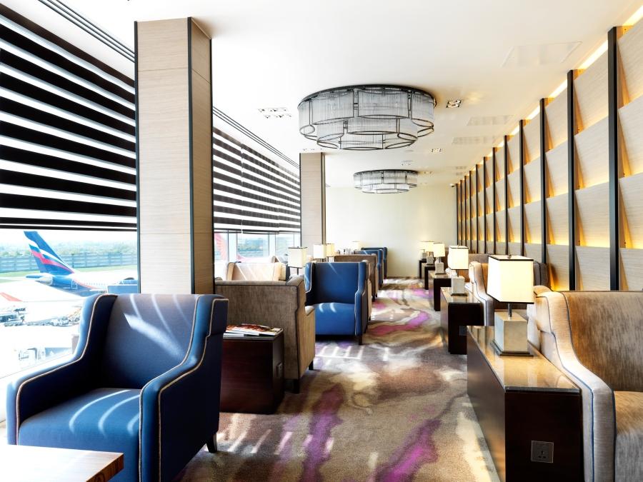 PPL LHR T4 Departures - Lounge Area 2