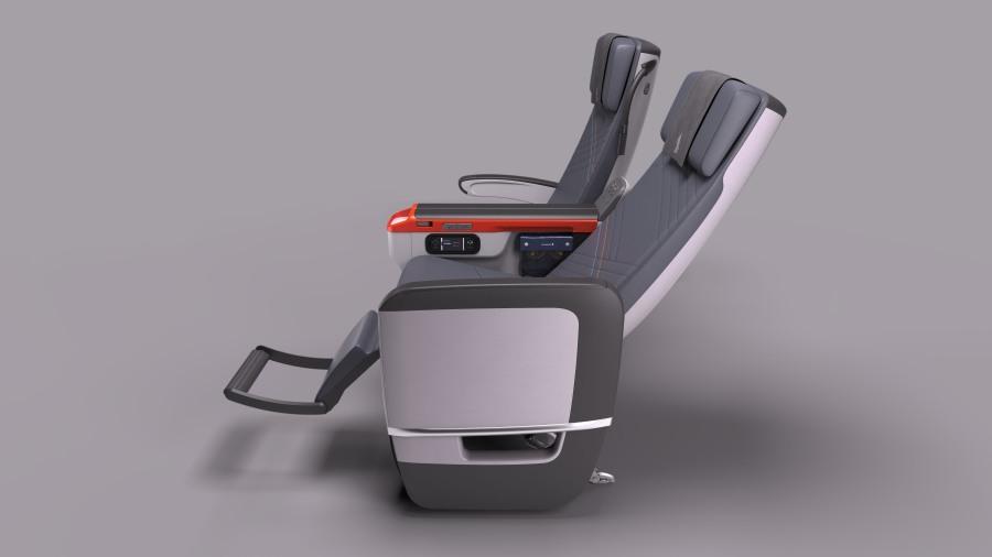 SQ Premium Economy seat (2)
