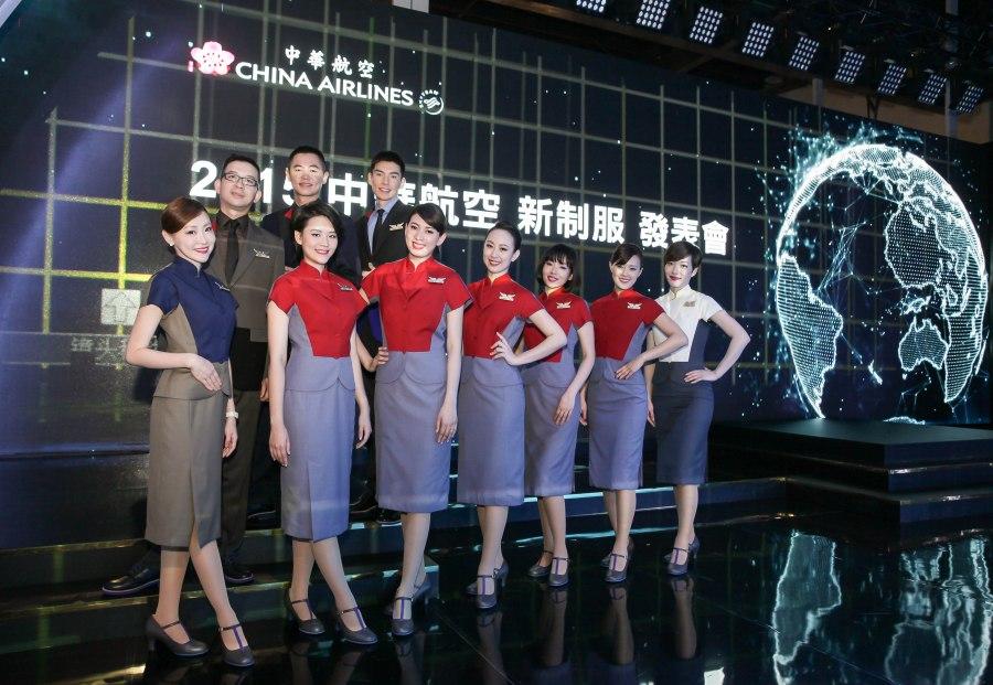 【新聞照3】 華航新制服發表 再創旗袍新時尚