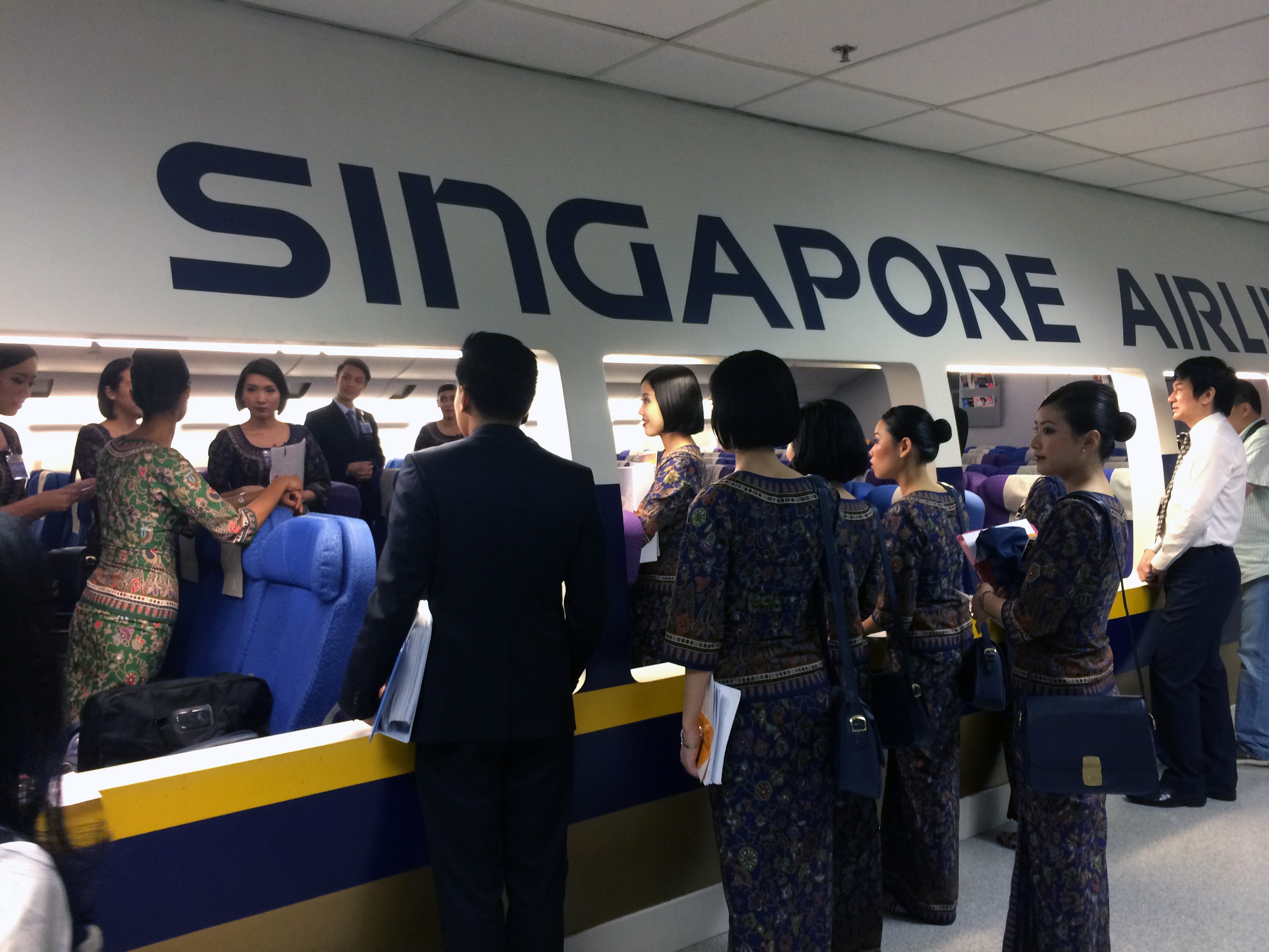 We take you behind the scenes at singapore airlines thedesignair - Singapore airlines office ...