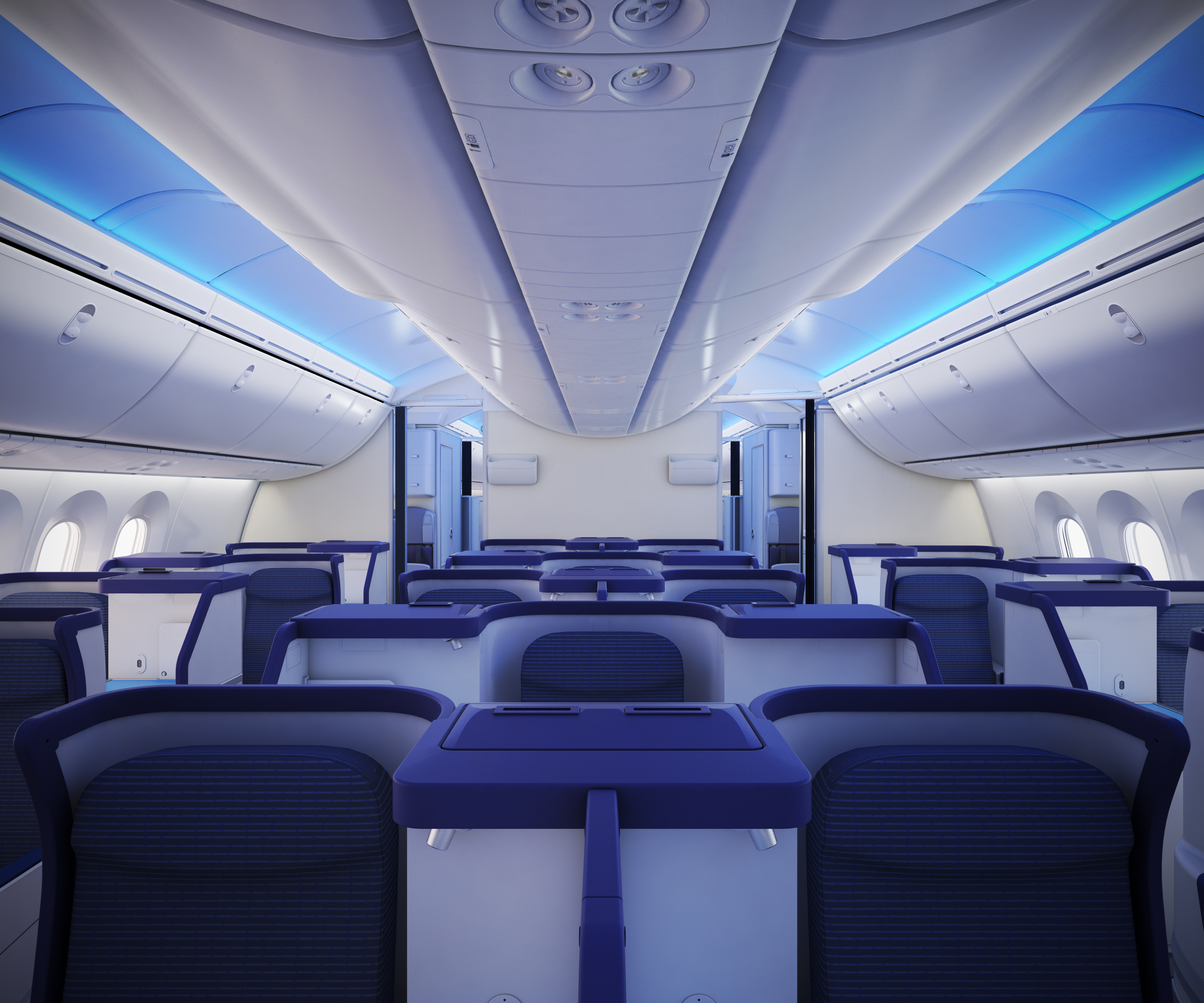 Ana introduce a new connection between europe australia for Interior 787 dreamliner