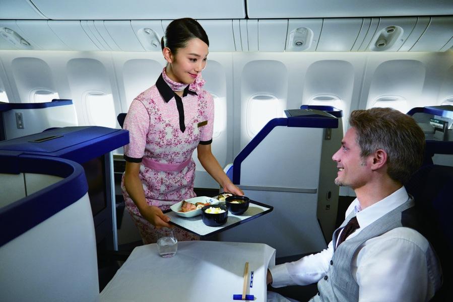 ANA Business Class service (High)