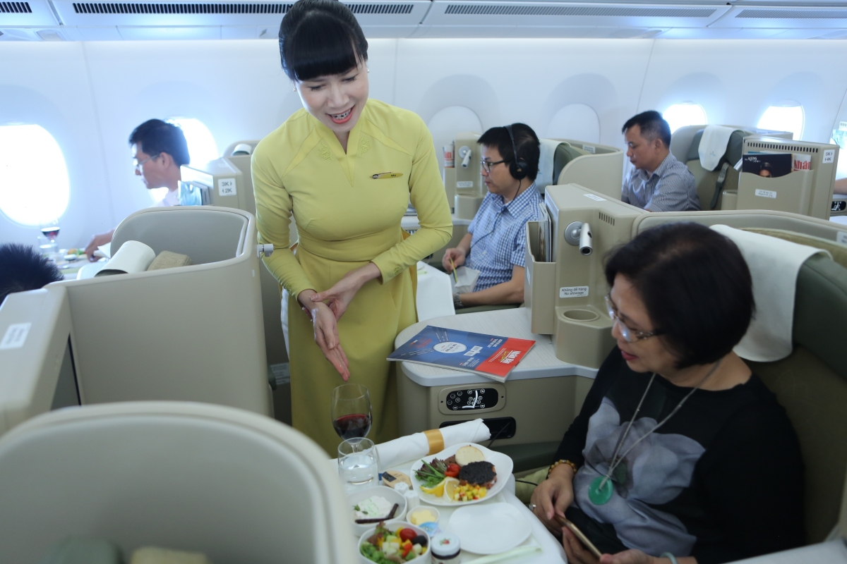 Vietnam Airlines Introduce New A350 On Ho Chi Minh – Hanoi Route