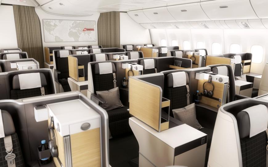 Swiss Business Class Boeing 777-300ER