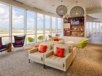The Centurion Lounge MIA_Seating Area