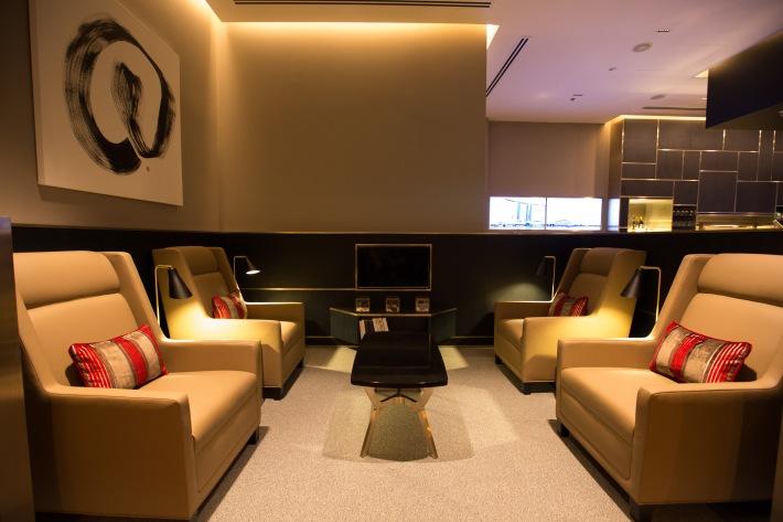 Concorde Bar seating area