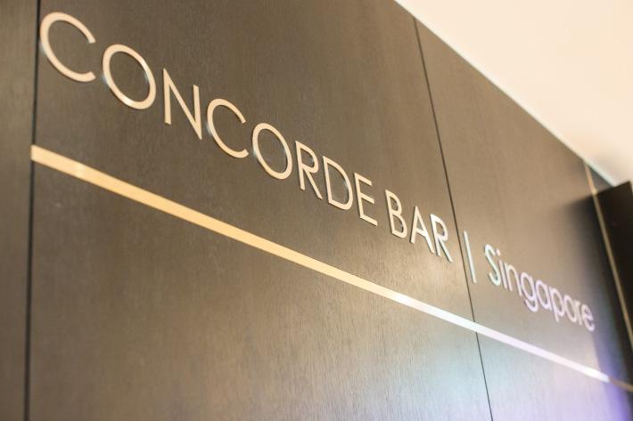 Concorde Bar sign