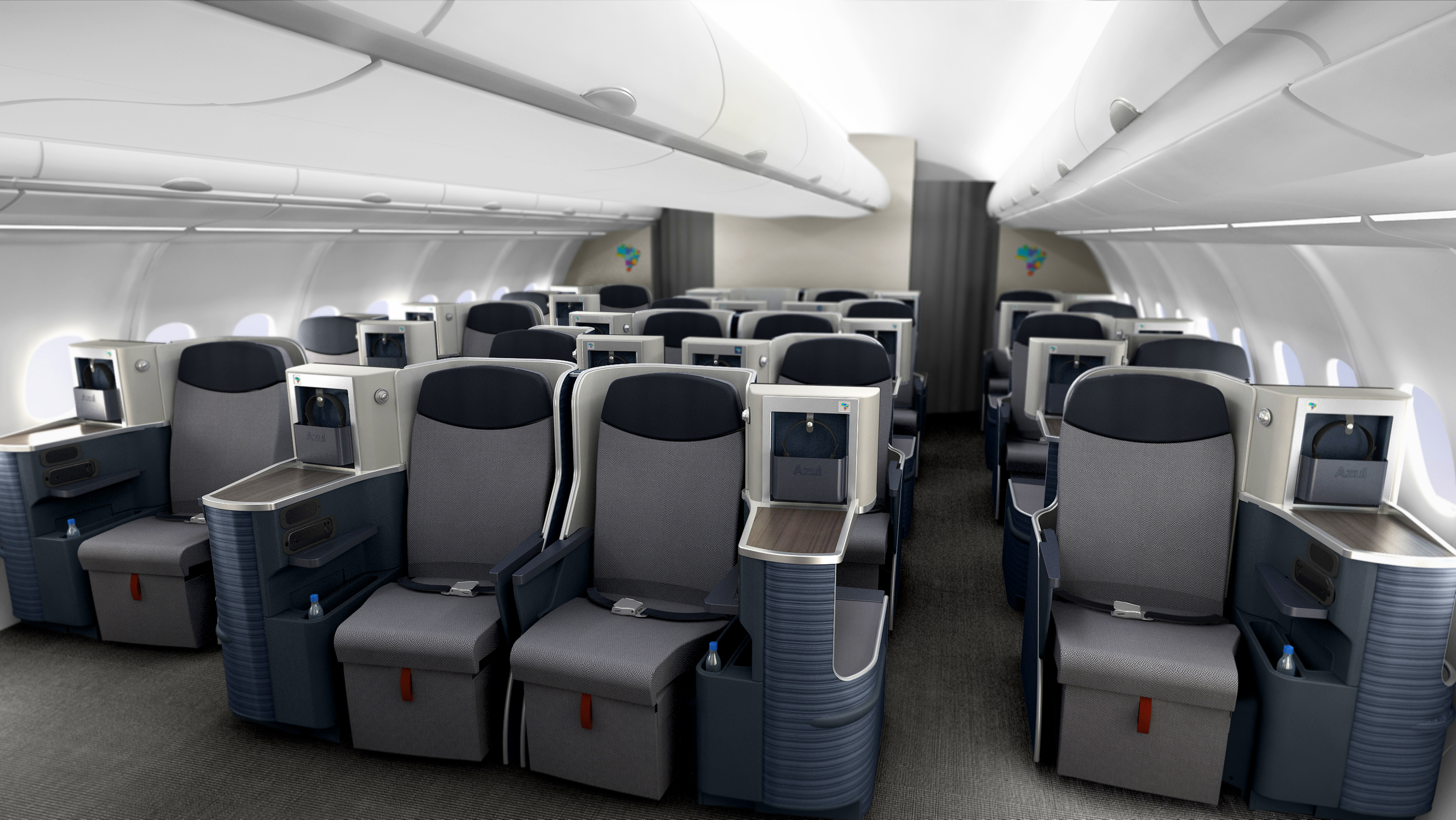 Launched This Month Azuls New A330 Cabins By Tangerine
