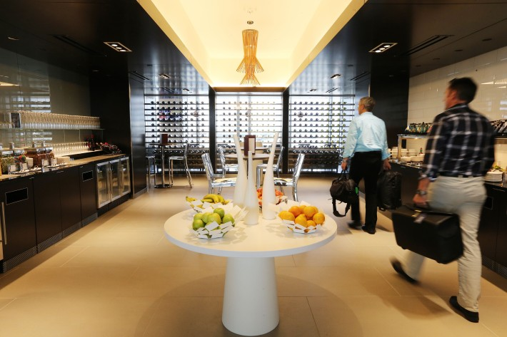 WASHINGTON, USA: British Airways lounge at Washington Dulles International Airport, Virginia, USA on 01 October 2014 (Picture by: British Airways)