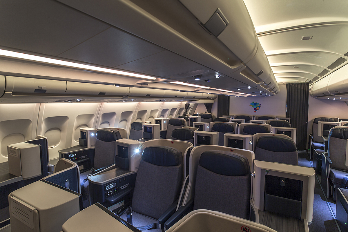launched this month  azul u2019s new a330 cabins by tangerine