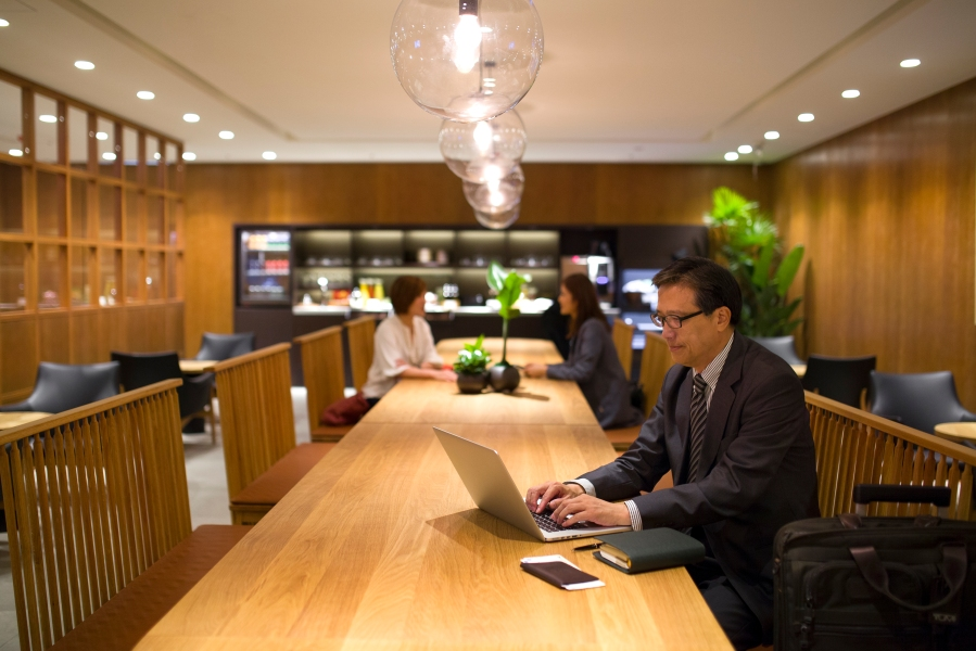 Cathay Pacific Taipei Lounge 1
