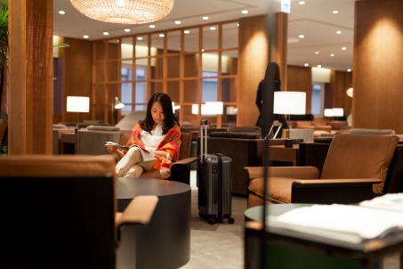 Cathay Pacific Taipei Lounge 14
