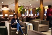 Cathay Pacific Taipei Lounge 2