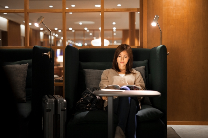 Cathay Pacific Taipei Lounge 6