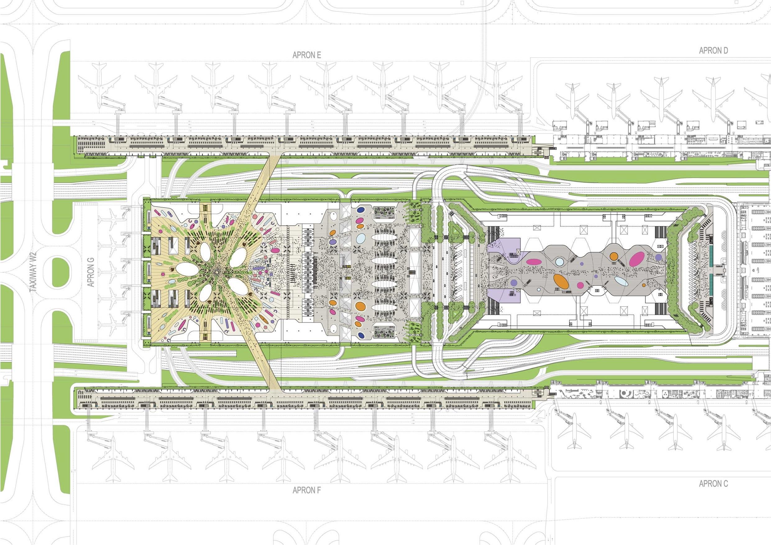 Taipei Taoyuan International Airport Terminal 3 Contract Awarded Thedesignair