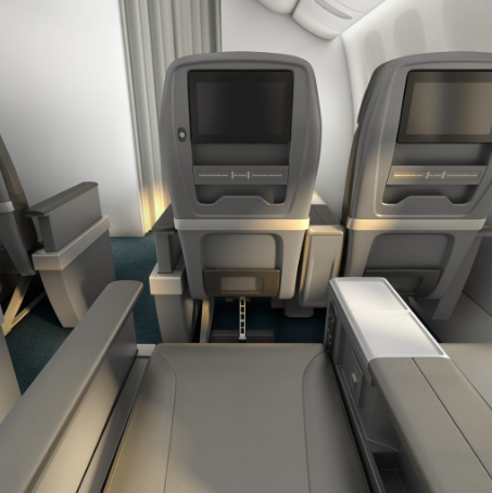 American Airlines Reveal International Standard Premium
