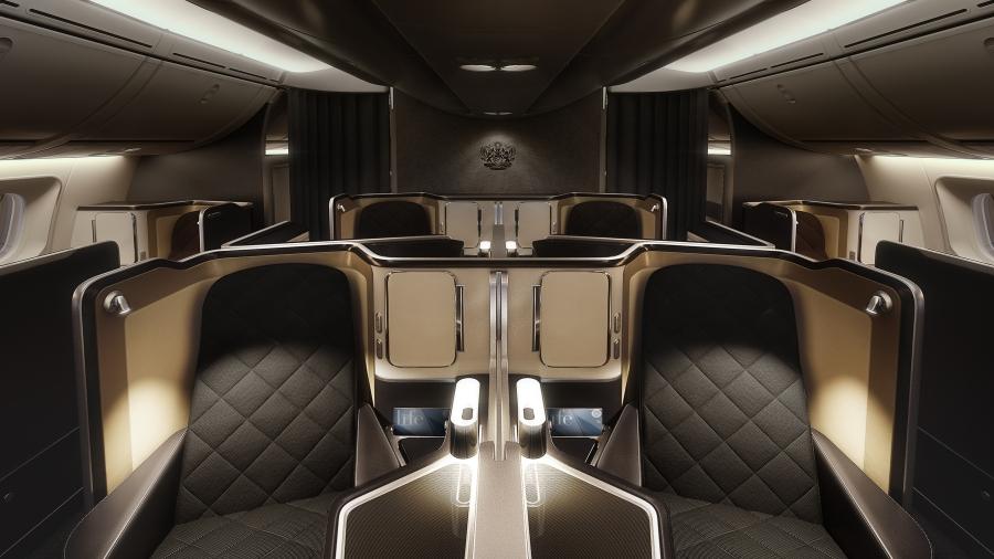British Airways 787-9 First (centre)