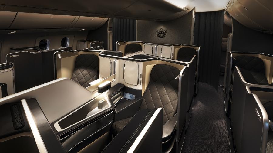 British Airways 787-9 First (overview)