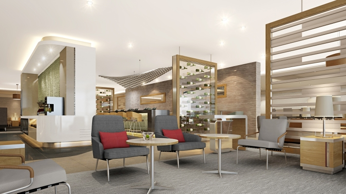 Flagship Lounge Concept Seating Area 1
