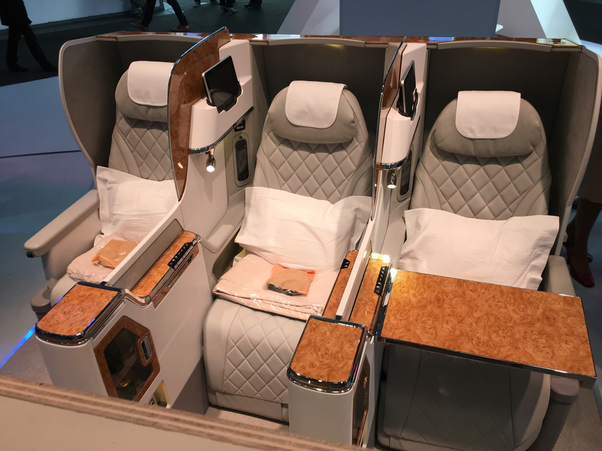 Image result for emirates new business class retrofit