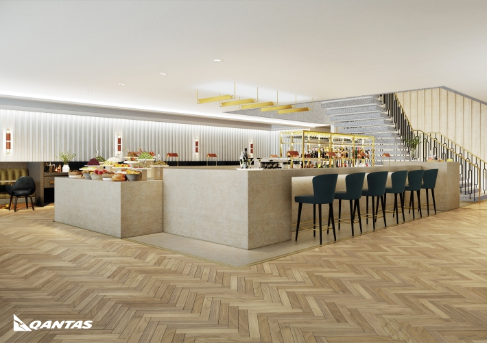 Introducing Qantas' new premium lounge at London Heathrow. Opening early 2017 image 2