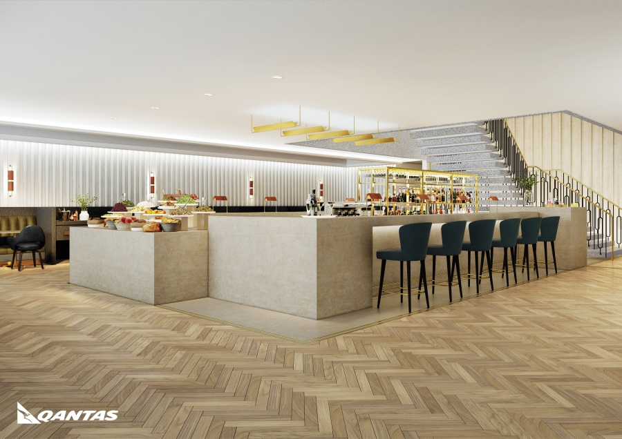 Introducing Qantas' new premium lounge at London Heathrow. Opening early 2017 image 2