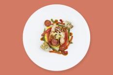 PLATS chef Boulud Plat J poulet basquaise0195