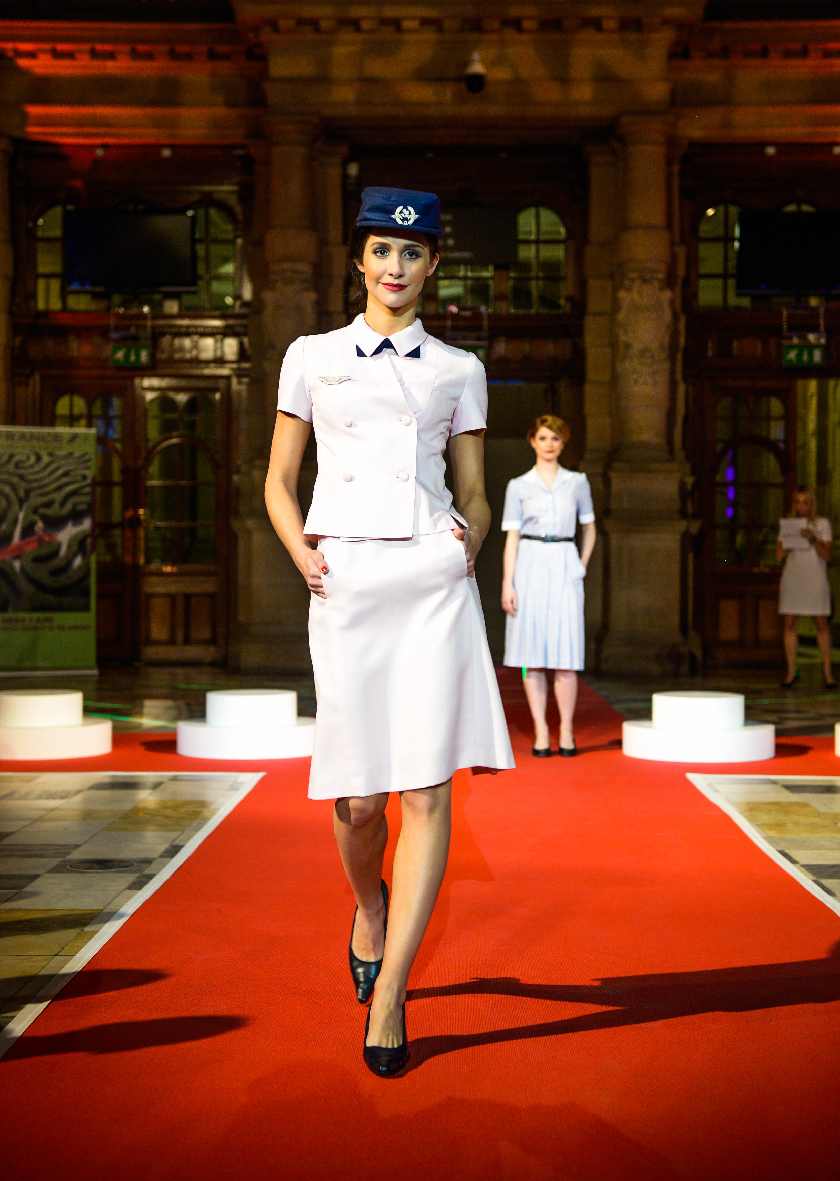 Air France Madame Magazine June July 2013 Ioanna Ntenti: Air France Uniforms Have Delighted For Decades