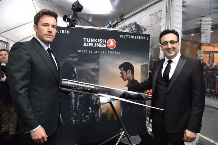 Ben Affleck-Turkish Airlines chairman Ilker Aycı