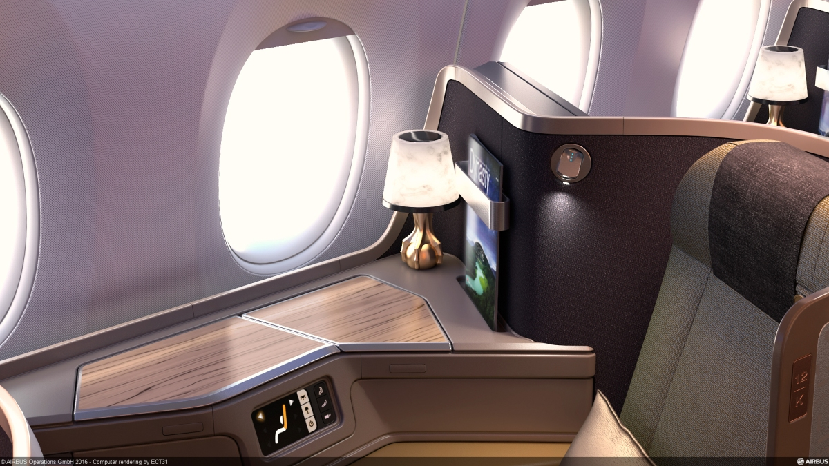China Airlines A350 Interiors May Appear Similar to the 777, But
