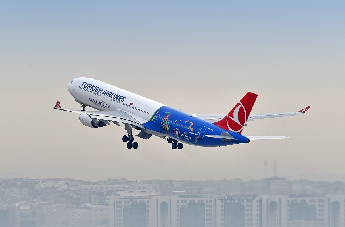 Turkish Airlines Launch Another Special Livery For Euro