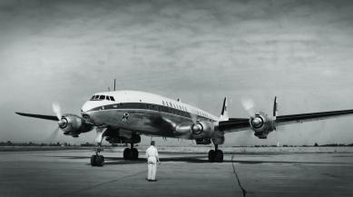 1950s transatlantic flight