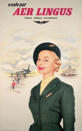 Aer Lingus Cabin Crew 1950s